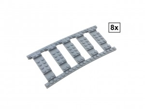 Ballast Plate R104 Set - 8 pieces for 8 R104 tracks