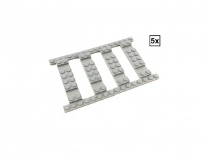 Ballast Plate Straight Set - 5 pieces for 5 straight tracks
