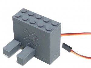 Right Switch Servo Motor