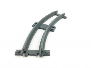 Narrow curved track R24