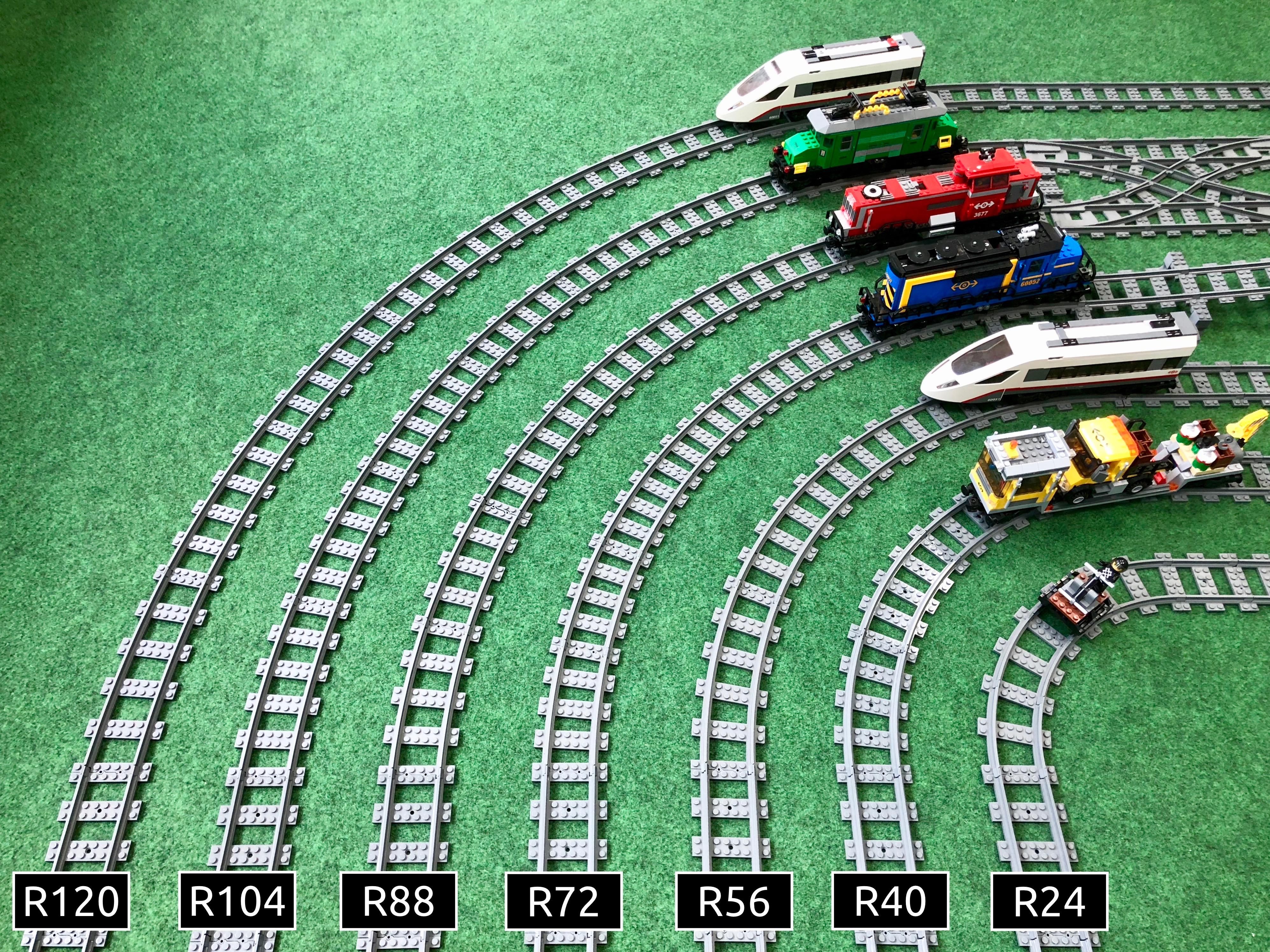 Curved Track Sets Curved Track Sets